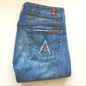 7 For All Mankind | A Pocket Flare Jeans | Size 29
